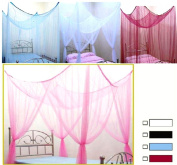 Canopy Mosquito Net Bed Canopy Bettdekoration Black