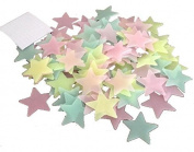 Design Friends Self-Adhesive Glow in the Dark Stars) Starry Sky 100 Glow In The Dark Wall Decal Wall Sticker Self-Adhesive for children and adults - Make Your Rooms Starry Sky For Children's Rooms For Sky Dream