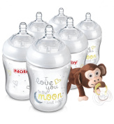 Natural Touch Bottles with Snoozies and Soother