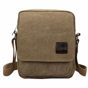 Baymate Unisex Classic Pure Colour Sport Crossbody Bag Hiking Bags