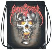 Skull Face Extra Large Bag With Draw String 100% Cotton