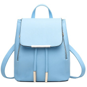 Vusum Casual Travel Backpack Shoulder Sky Blue