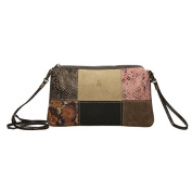 ANTHER Women's Cross-Body Bag Multicolour Varios colores