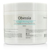 Obessia Massage & Slimming Cream 500ml/16.7oz
