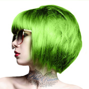 Crazy Colour Unisex Semi-Permanent Colour Hair Dye 100ml - One Size, Lime Twist