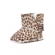 Details about Segue Winter Baby Boots Moon Boots Size M/L, Leopard/beige Gift Box