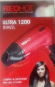 Foldable Red Hot Professional Style Compact Hair Dryer