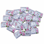 Banithani Lot Of 24 Pack Forehead Tattoo Sticker Indian Bindi Accessory For Women