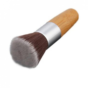 Fashion Flat Buffer Foundation Powder Brush Cosmetic Makeup Tool Bamboo Handle Professional Make-up Brush