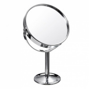 Ungfu Mall Makeup Cosmetic Dual Side Normal Magnifying Stand Mirror