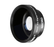 Ayex Wide-angle Conversion Lens 0.45x Multi Coated Wide Angle Lens for 30 mm Thread