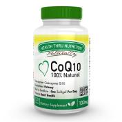 CoQ10 100mg 120 Softgels 100% Natural Coenzyme Q-10