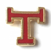 Masonic Royal Arch Triple Tau Enamel Lapel Pin Badge