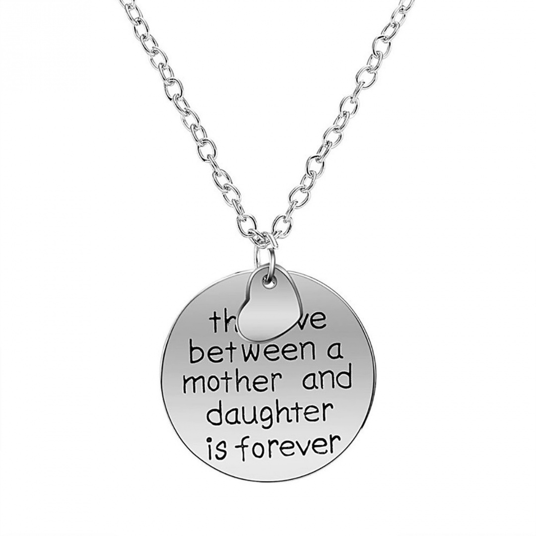 Korliya Mother Daughter Forever Love Necklace Infinity Heart Sterling Silver Pendant frWg6at0m4