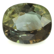 SKIELKA DESIGNSCHMUCK Colour-Changing Alexandrite Natural 5.2 x 4.4 mm in Oval Cut. Includes Expertise