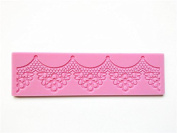 YL Arch Line Flower A047 Lace Silicone Mould Mould Sugar Craft Cake Fondant Cake Decorating Baking Tool