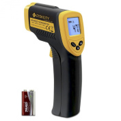 Etekcity Lasergrip 774 Non-contact Digital Infrared Thermometer, - 50 - 380°C, Yellow/Black