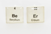 Handmade Periodic Table Beer Cufflinks