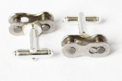 Handmade Bike Chain Cufflinks