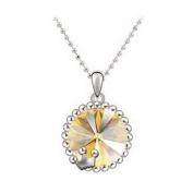 Pietra Flower Women's Alloy The Crown of the Sun Necklace