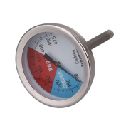 Demiawaking 5.1cm - 5.1cm 475 RWB BBQ CHARCOAL GRILL WOOD SMOKER OVEN PIT TEMP DIAL GAUGE THERMOMETER