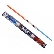 Double Lightsaber - 2 lightsaber in 1 Light & Sounds Red and Blue - Star Wars