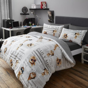 Cats Daily Mews Cute Quilt Duvet Cover