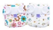 Bambino Mio, Miosoft Nappy Cover, Rosie Posie & Spring, Size 1