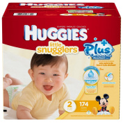 Huggies Little Snugglers Plus Size 2, 174 Pack