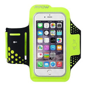 iPhone 6S Armband, Mpow (12cm ) Running Sweatproof Sport Armband Case Cover Holder with Extra Adjustable-Length Extention Band & Key Slots Holder Pocket for iPhone 6S/7 for Gym, Running, Jogging, Walking, Biking, Hiking, Workout and Exercise