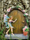 Fabulous Sparkle Fairy Door - Random Colour