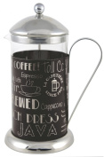 Creative Tops 1200 ml La Cafetiere Wake Up and Smell The Coffee Cafetiere, Black