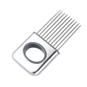 Chinatera Onion Holder Slicer with Stainless Steel Needles Tomato Potato Cutter Slicer Gadget Vegetable Tools