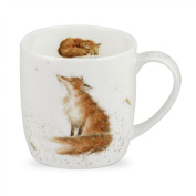 Wrendale by Royal Worcester The Artful Poacher Fox Single Mug