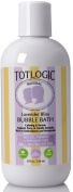 TotLogic Natural Bubble Bath - Lavender Bliss, 240ml, No Sulphates, No Phthalates
