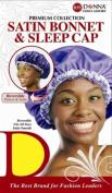 Donna's Premium Reversible Satin Bonnet & Sleep Cap