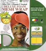 Donna's Olive Oil + Vitamin E Treated Deluxe Foam Mesh Wrap