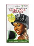 Donna's Olive Oil + Vitamin E Treated Sleep Cap & Bonnet