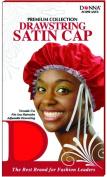 Donna's Premium Adjustable Drawstring Satin Cap