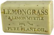 Lemongrass & Lemon Myrtle Soap 200g 210ml
