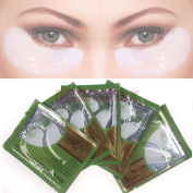 WindMax® Pack of 10 Pairs Collagen Crystal Gel Eye Mask Eyelid Under Patch Deep Moisture Anti Wrinkle Salon Beauty Tools