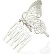 Q & Q Fashion Victorian Pollen Butterfly Wing Bug Hair Pin Clip Dress Snap Barrette Comb