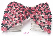 Lovef Fashion Jewellery Hand-Beaded Wild Magic Hair Comb Hair Accessories Hair Beauty Decoration