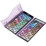 Beautyinside 100 Colours Banquet Rose Makeup Eyeshadow Palette Set With Purple Foil Bag Cosmetics Beauty