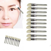 Creazy® 10Pcs Makeup Eye Shadow Eyeliner Brush Sponge Applicator Tool