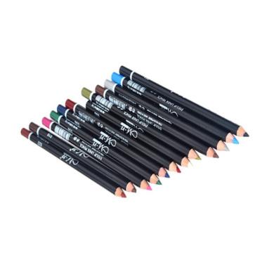 Menow 12 Colours Eye Make Up Eyeliner Pencil Waterproof Eyebrow Beauty Pen Eye Liner Lip Sticks Cosmetics Eyes Makeup