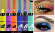 6 PCS KLEANCOLOR MASTER STROKES LONG WEAR CANDY SHADOW STICK