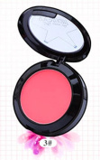 SUKRAGRAHA Blush Facial Makeup Powder Set with Brush Mirror Pale Red-Violet