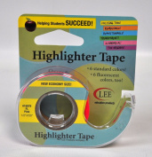 Removable Highlighter Tape Fluorescent Pink