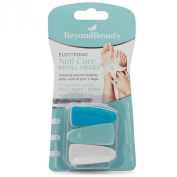 BeyondBeauty Electronic Nail Care System Refills/Heads (Contains ONLY Refills)